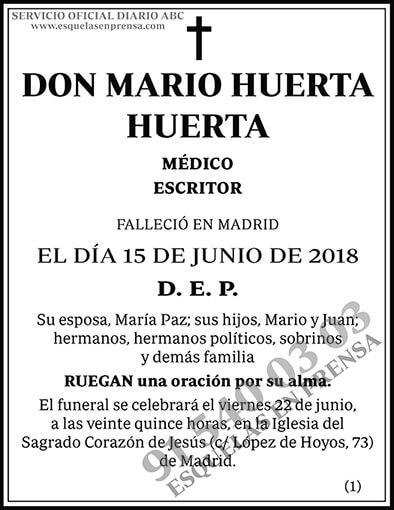 Mario Huerta Huerta